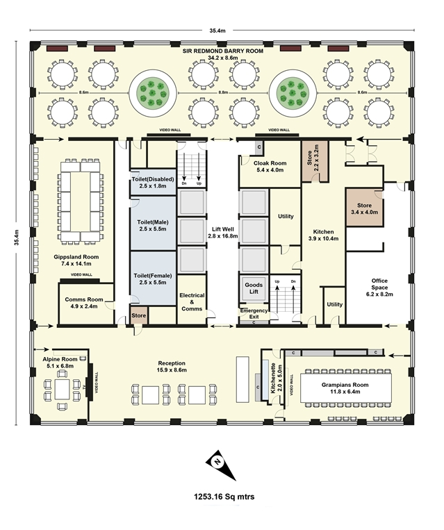 Melbourne Commercial Floor Plan Service